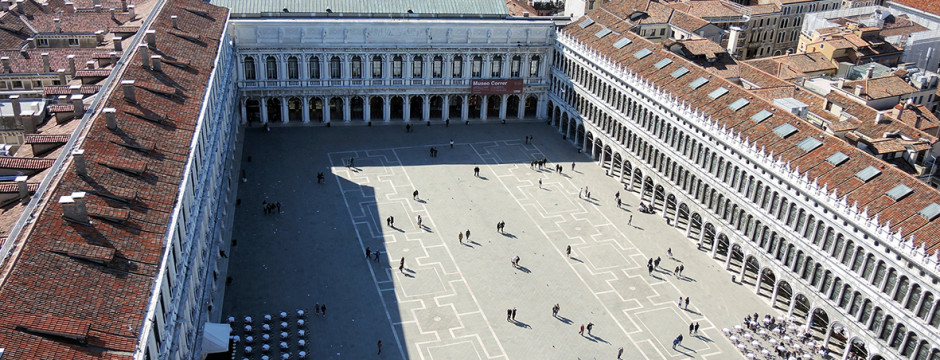 St. Mark's square seen from the bell tower