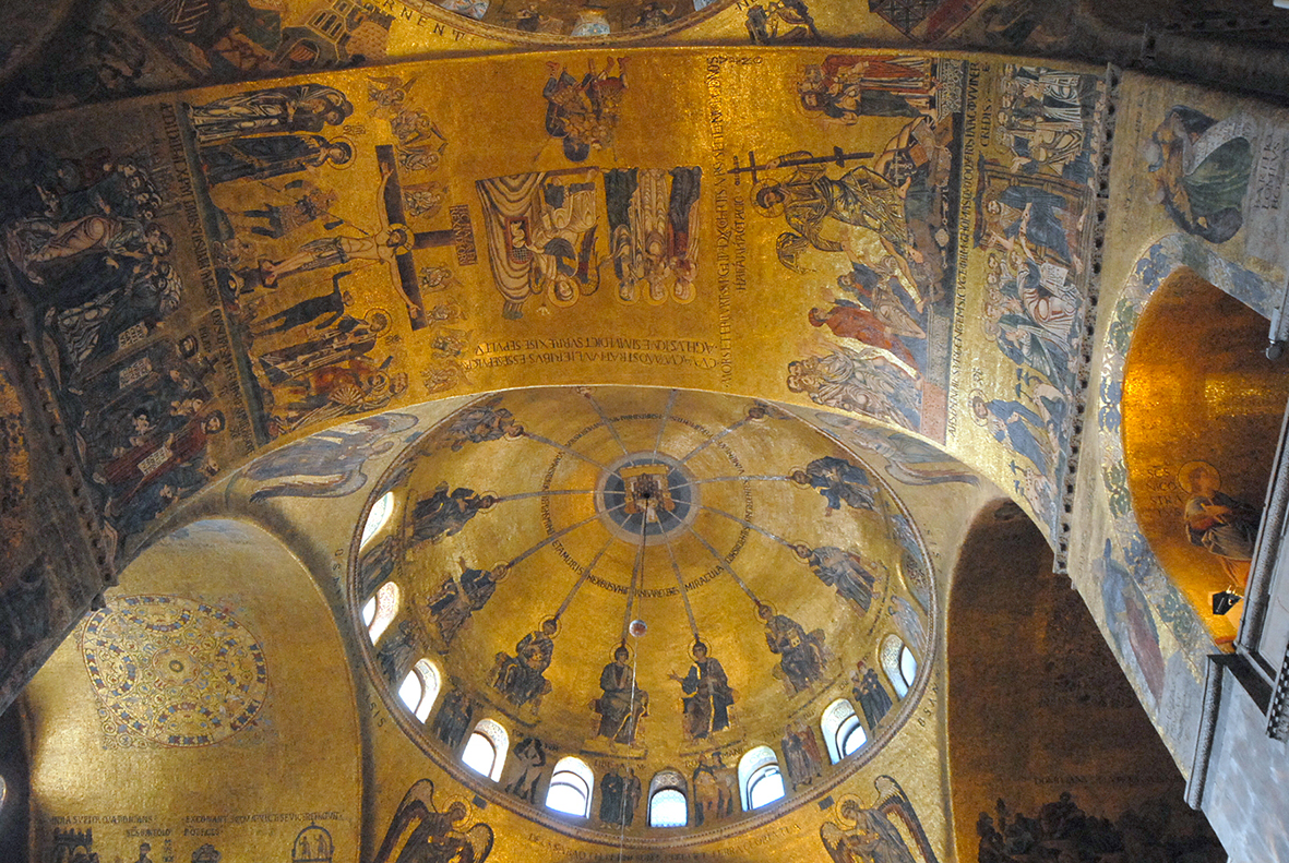 Dome of Resurrection, St. Mark's church
