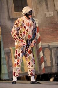 """Carnevale di Venezia """"SENSATION"""". Lo spettacolo teatrale """"Arlecchino servo di due padroni"""" interpretato dall'attore Ferruccio Soleri"""