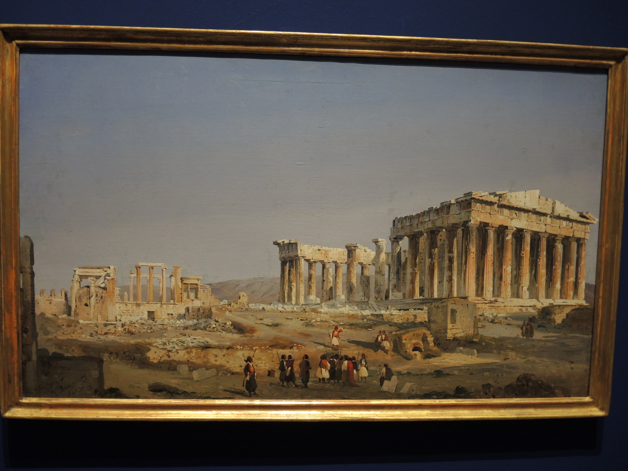 Athens, the Parthenon - 1843