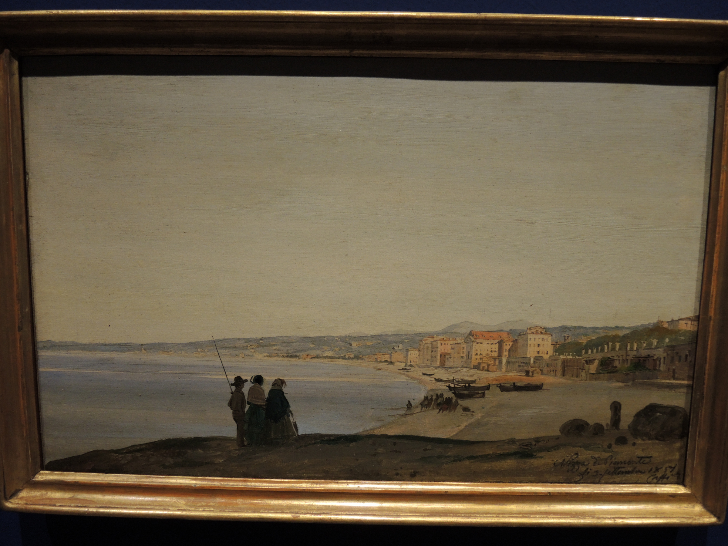 Nice, view of the city - 1859