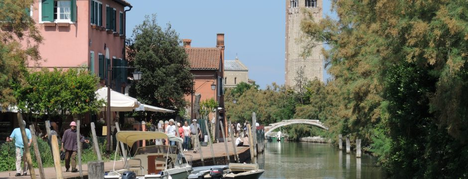 Main canal in Torcello