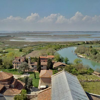 General view of Torcello from the bell tower