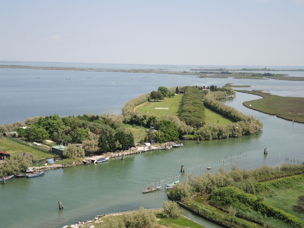 A view of Torcello's surrounding