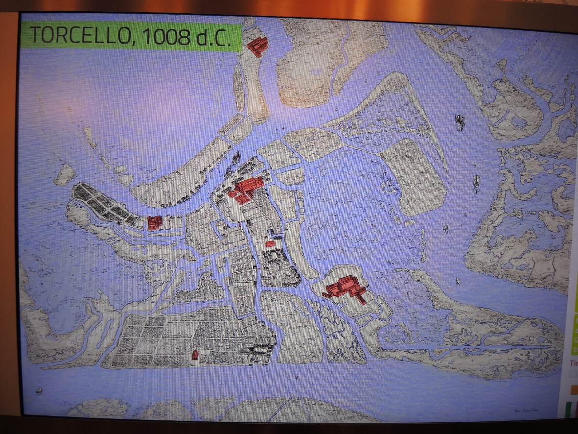 Torcello in 1008 a.d.