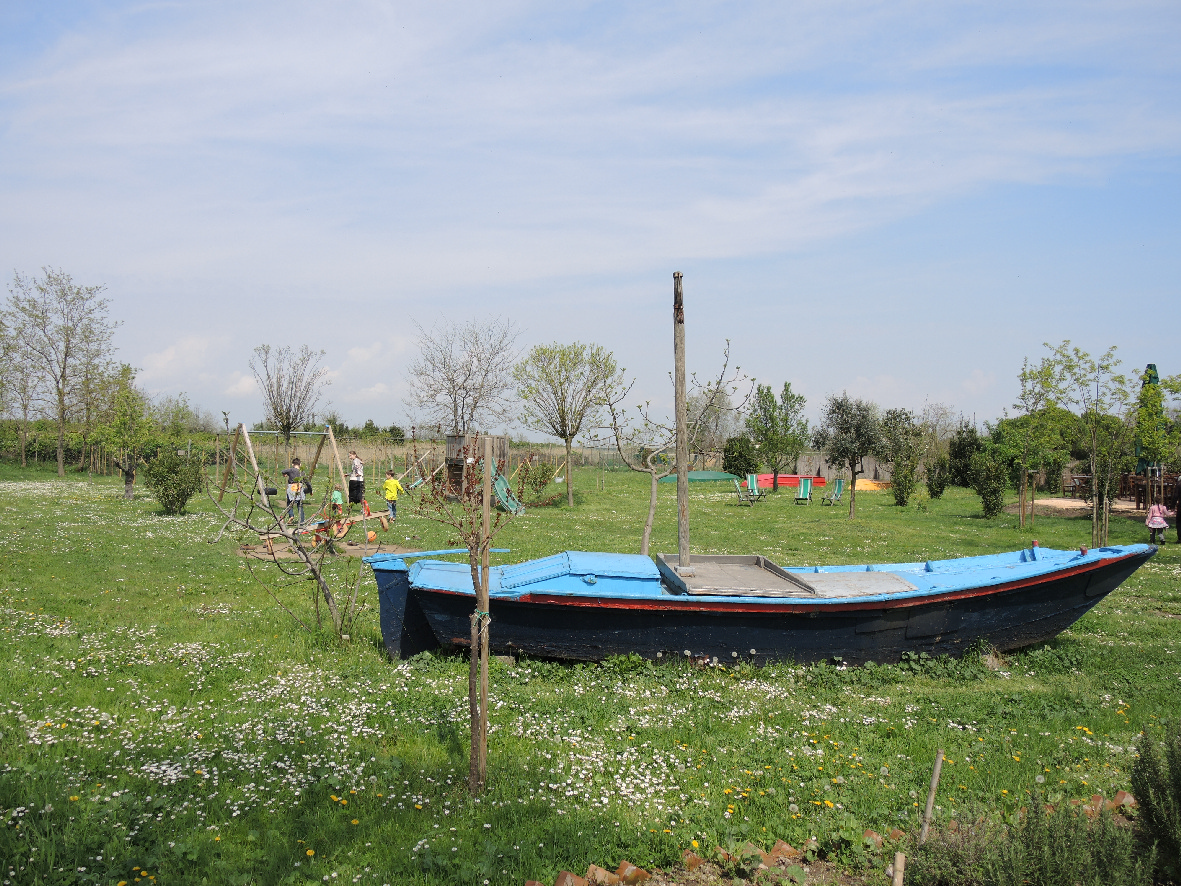 A park in Torcello