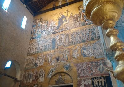Mosaic of Final Judgement in Torcello's cathedral