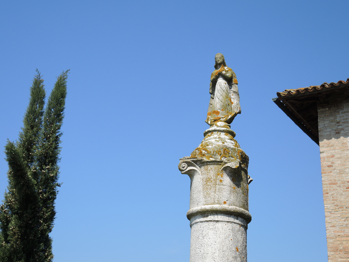 Little statue of devotion in Torcello