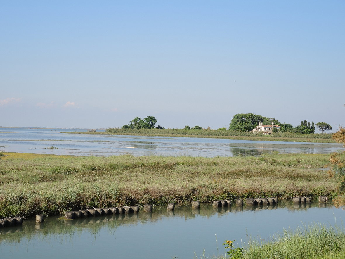 An old farm house and its sorroundings in Torcello