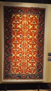 Carpet with arabesques 'Lotto' in Anatolian style - Anatolya - 16th cent. (zaleski collection)