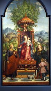 G. Dai Libri_1530_Madonna dell''Ombrellino_Museo di Castelvecchio, Verona