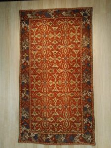 Ornated carpet with 'Lotto' arabesques - Western Anatolya - 1600 ca (Zalesky collection)