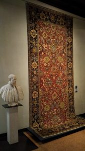 Carpet with palms and small cloud pattern - Isfahan - 18th cent. (Zalesky collection