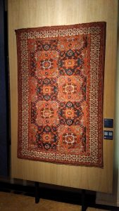 Carpet with small 'Holbein' patterns - Western Anatolya - 16th cent. (Zilesky collection)
