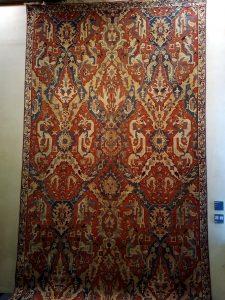 Carpet with drakes - Caucasus - 1600 ca (Zaleski collection)