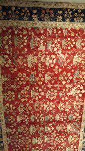 Carpet with shrubs - Lahore - 18th cent. (Zaleski collection)